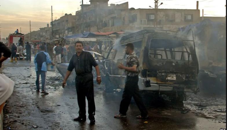 العراق.. ارتفاع ضحايا الهجوم الانتحاري في ديالى إلى 15 قتيل و33 مصاب