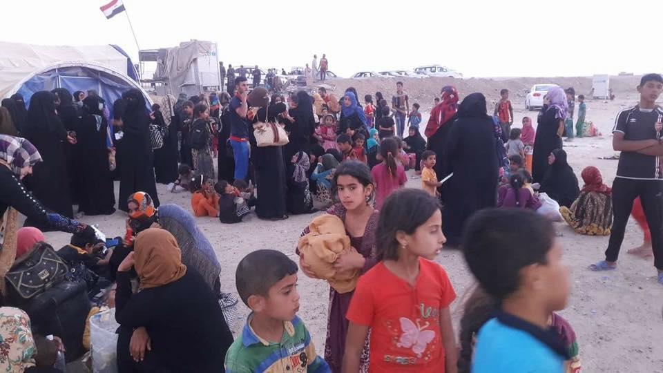مجلس الأنبار يعلن نزوح مئات الاسر من جزيرة الرمادي