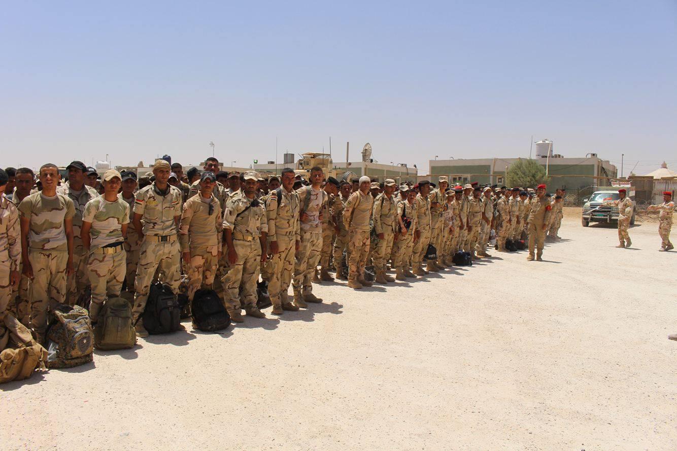 قائد عمليات الجزيرة يعلن وصول تعزيزات عسكرية إلى قاعدة عين الأسد