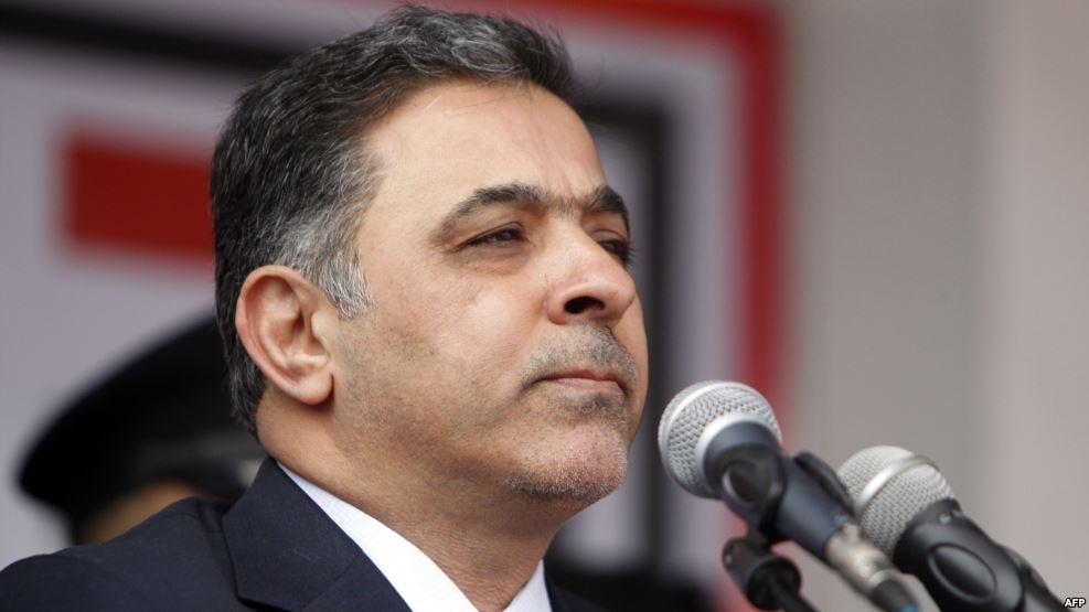 العبادي يوافق على استقالة وزير الداخلية محمد الغبان