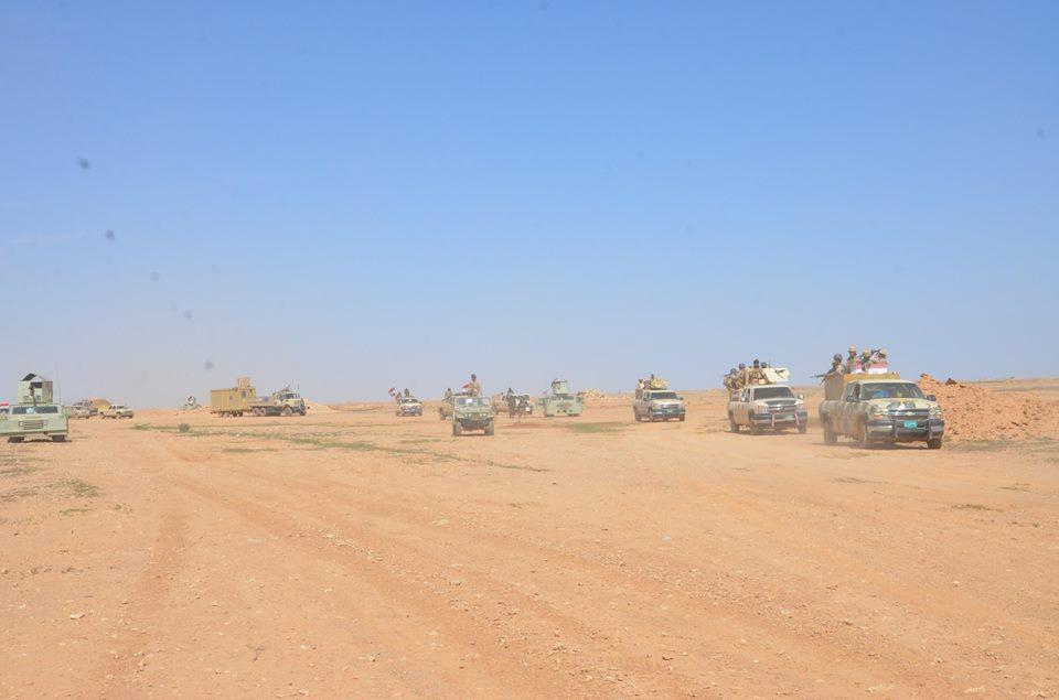 انطلاق عملية تحرير منطقة الدولاب بمشاركة العشائر والتحالف الدولي