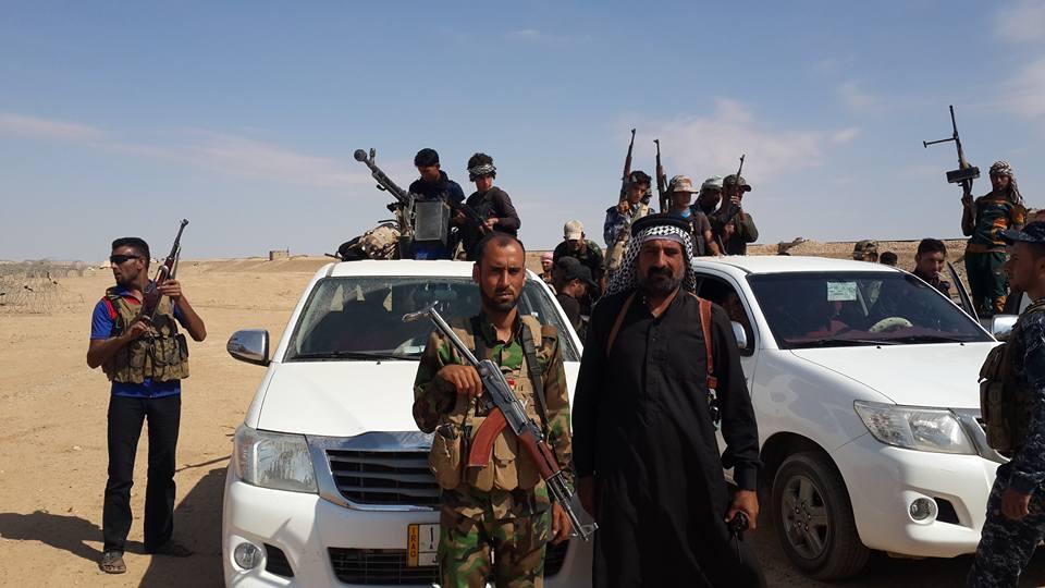 الجيش والعشائر يحررون ثلاثة قرى في الدولاب غربي هيت