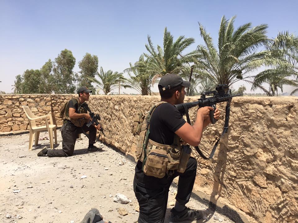 مقتل جندي واحد أبناء عشائر الانبار شمال الرمادي