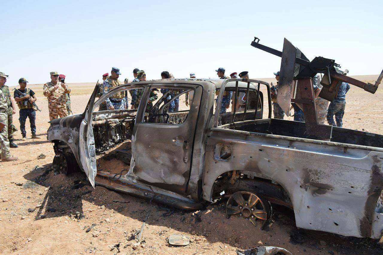 قيادة حرس الحدود تصد هجوما لداعش بالأنبار