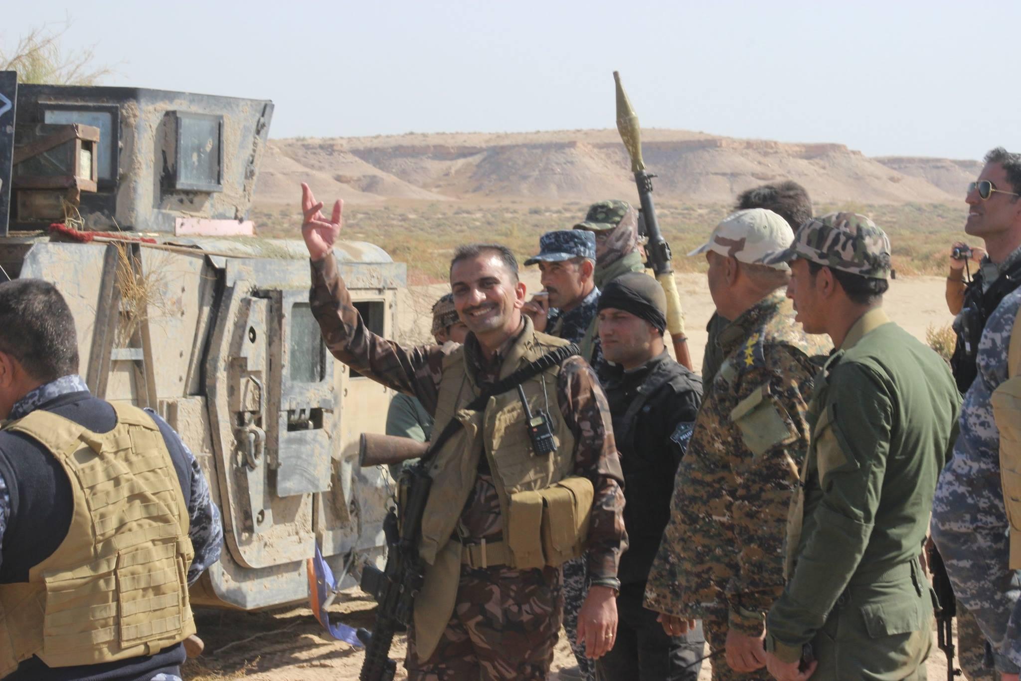 شرطة عامرية الفلوجة تشكل لجنة لإعادة النازحين الى منطقة الحصي