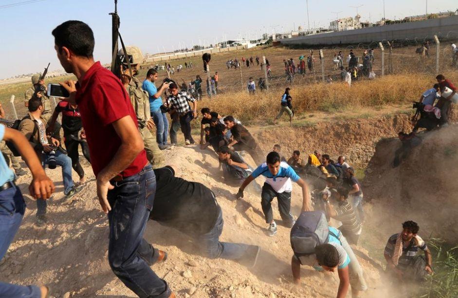 حرس الحدود التركي يضبط 142 عراقيا حاولوا الدخول عبر سوريا
