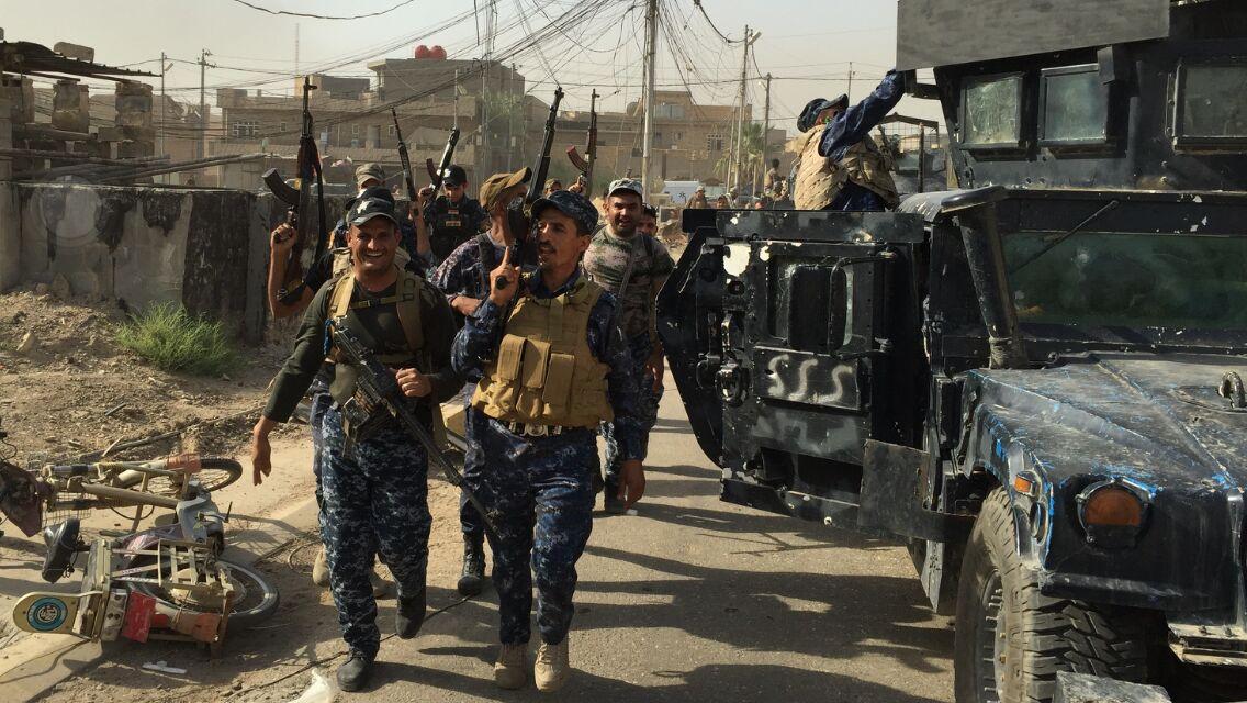 عضو بمجلس الانبار: العبادي وجه بسحب الشرطة الاتحادية من الفلوجة