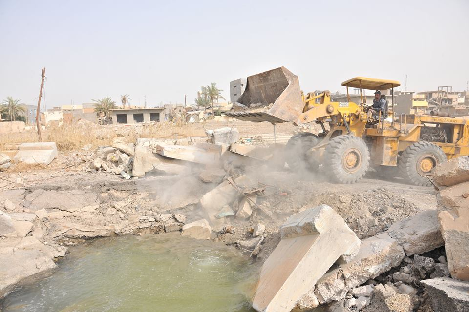العوسج يدعو المنظمات الدولية للمساهمة بتأهيل مدينة الرمادي