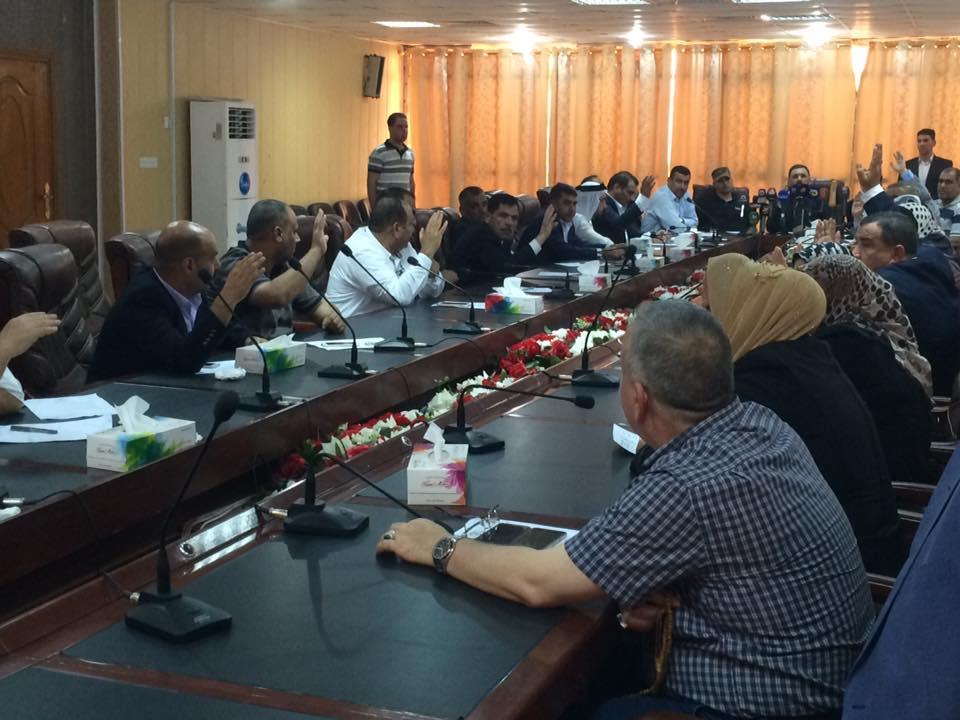كرحوت: قررنا حل لجان مجلس الانبار واستبدال رؤساءها بأكفاء