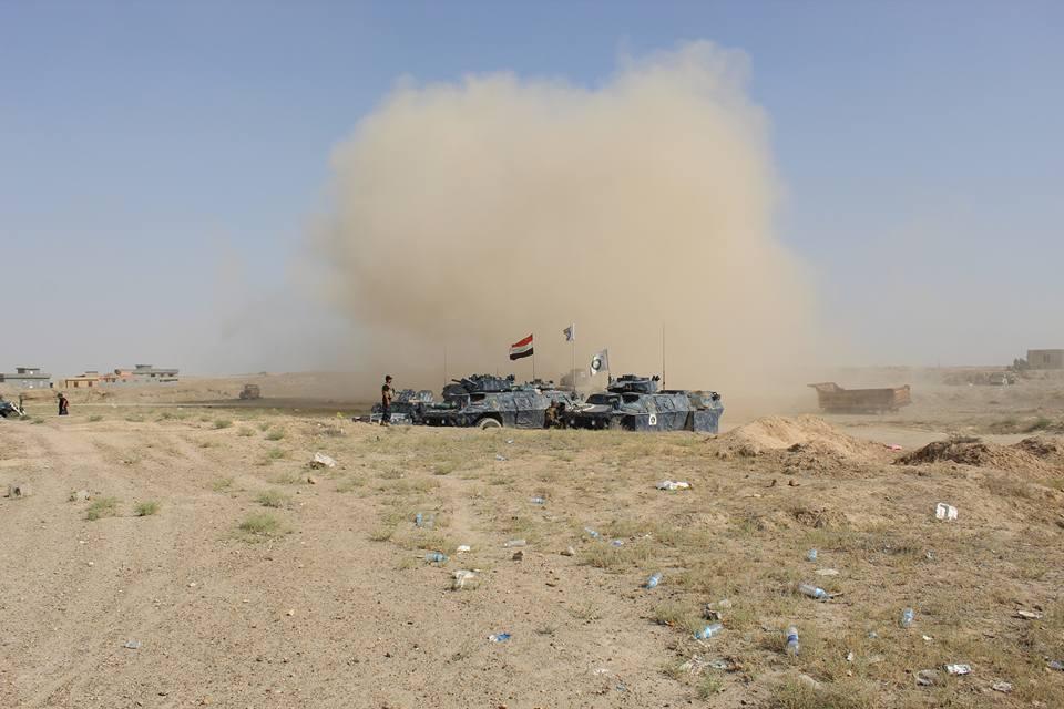 إصابة منتسبين اثنين بحرس الحدود بقصف يُرجح أن يكون بالخطأ غربي الأنبار