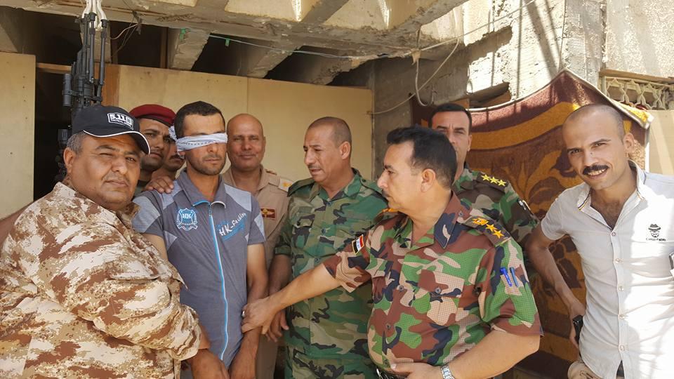 """حشد عشائر الانبار يعلن اعتقال """"عنصر خطير"""" في """"داعش"""" غربي الرمادي"""