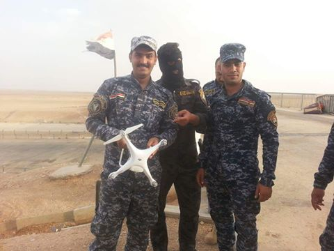 """إسقاط طائرة مسيرة تابعة لـ""""داعش"""" غرب الرمادي"""