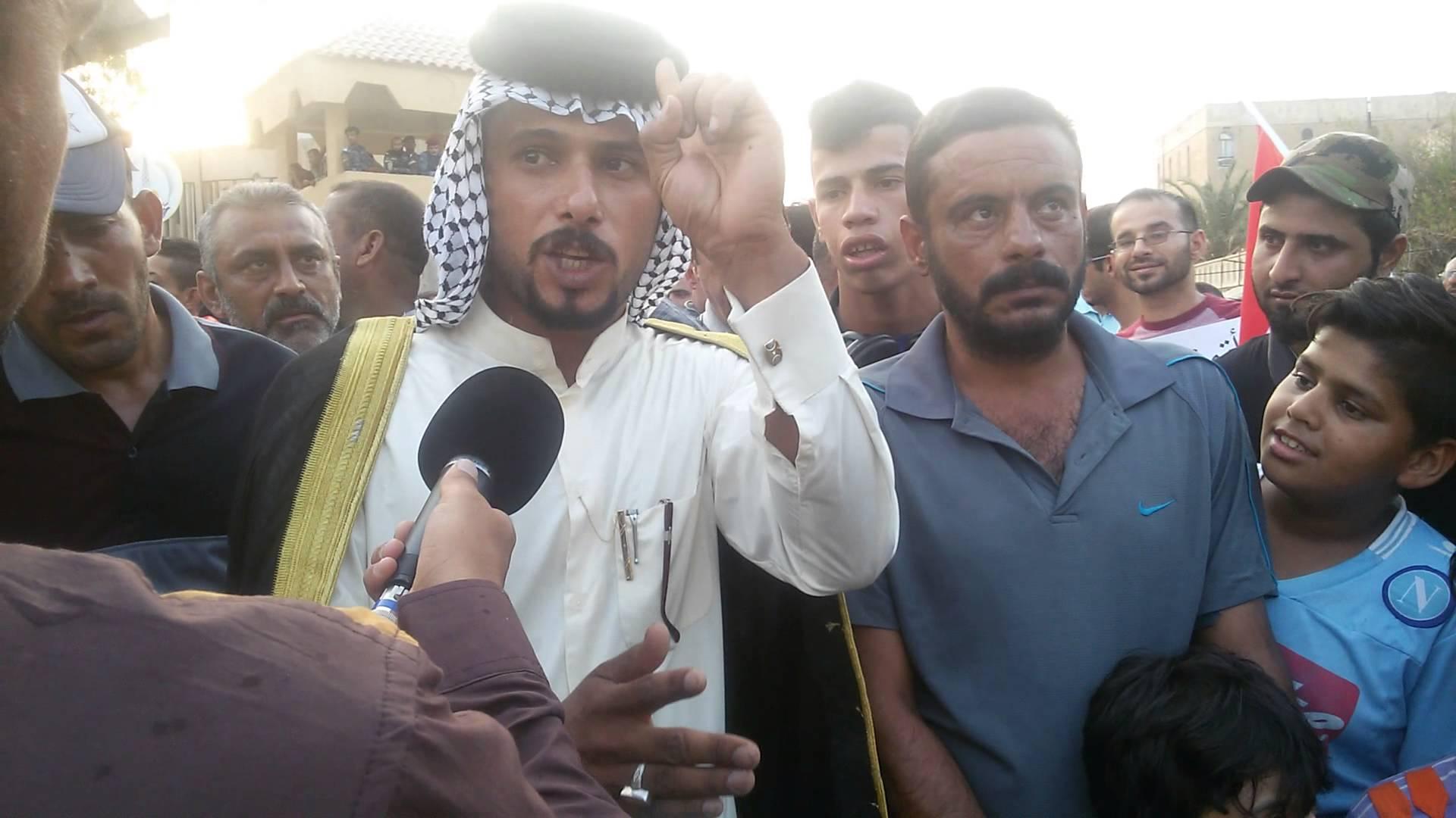 """الأمن العراقي يفرق بـ""""القوة"""" مظاهرة لطالبي التوظيف جنوبي البلاد"""