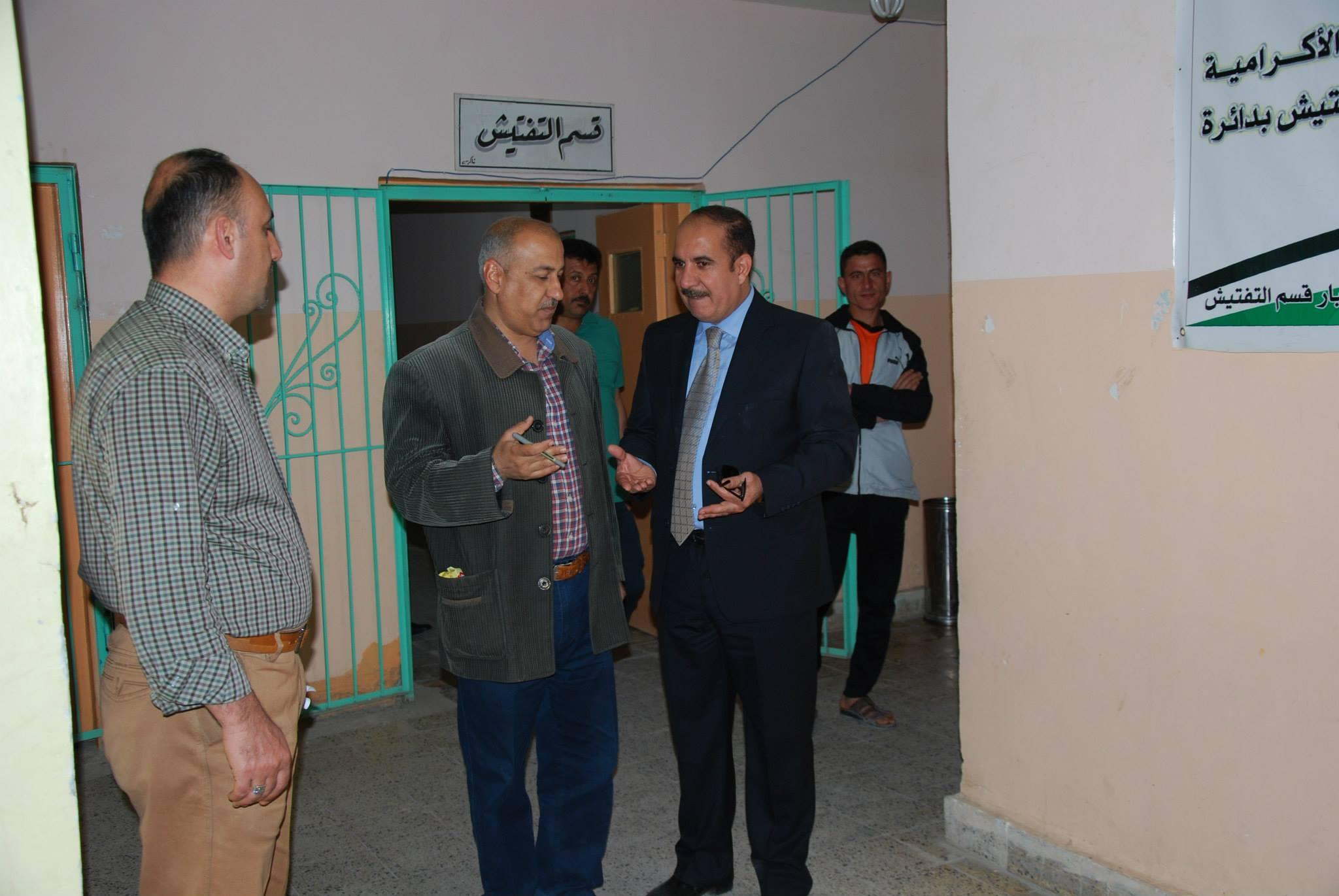 صحة الانبار تستبدل مدراء الشعب والأقسام الصحية في المحافظة