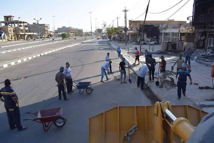 عضو بمجلس الأنبار: أربع مناطق في الفلوجة جاهزة لعودة النازحين