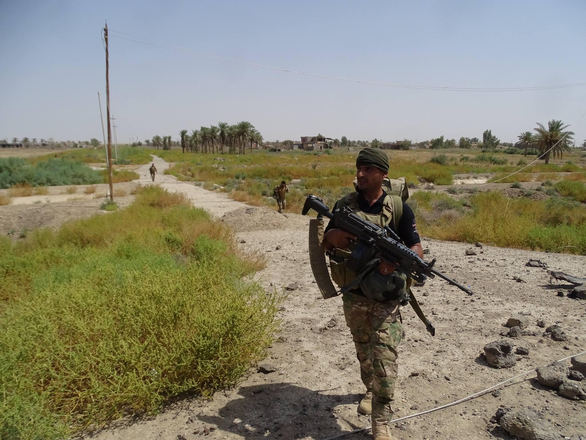 قائد عمليات الجزيرة يعلن تحرير أربع قرى في جزيرة البغدادي