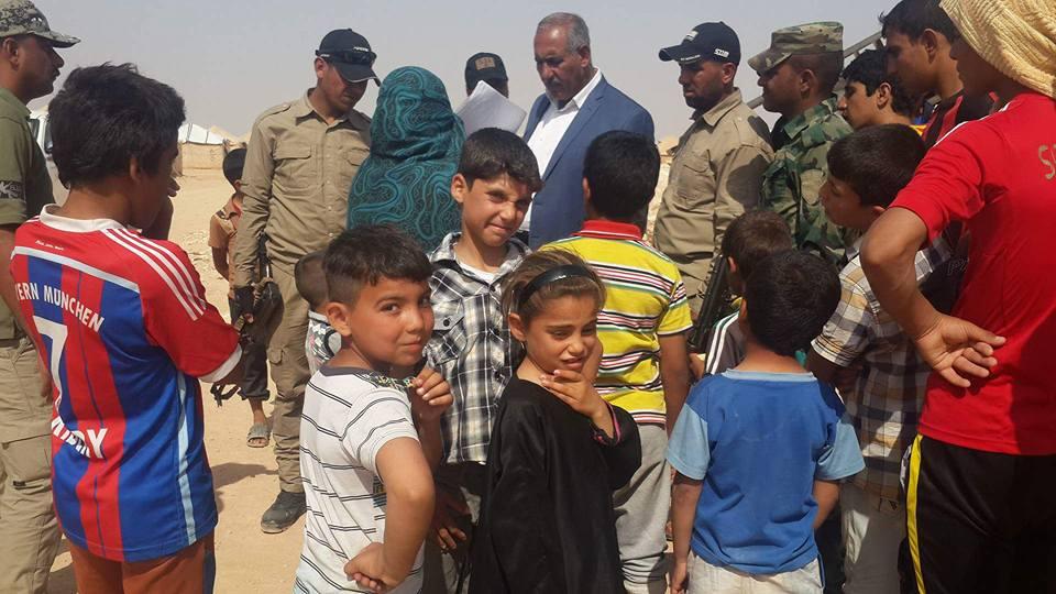 عضو بمجلس الأنبار يعلن عودة 50 أسرة نازحة الى صقلاوية الفلوجة