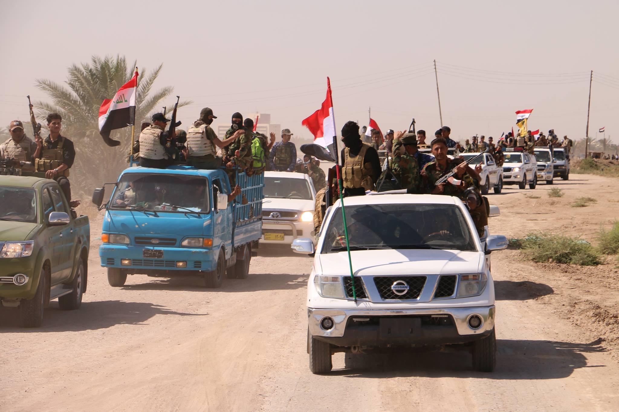 """تحرير قريتي """"الزيرة والكصير"""" بجزيرة البغدادي في الانبار"""