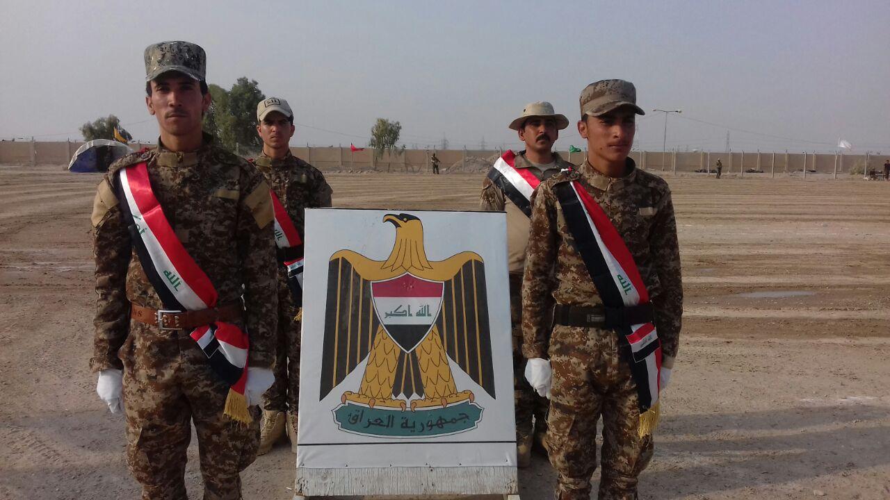 بالصور.. تخرج دورة لمقاتلي العشائر بالحشد في عامرية الفلوجة