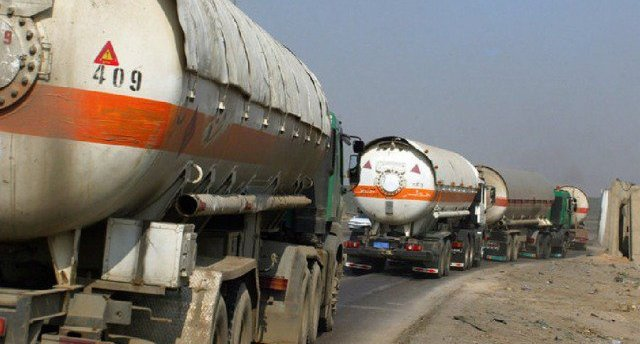 شركة نقل المنتوجات النفطية بالأنبار تطلب تسهيل عبور شاحناتها للمحافظة