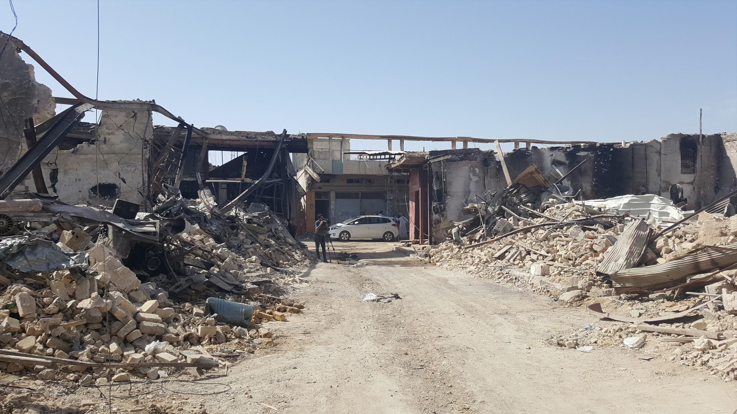 أصحاب محال بسوق الفلوجة يطالبون بتعويضات ومجلس الأنبار يوجه لجاناً بكشف الأضرار