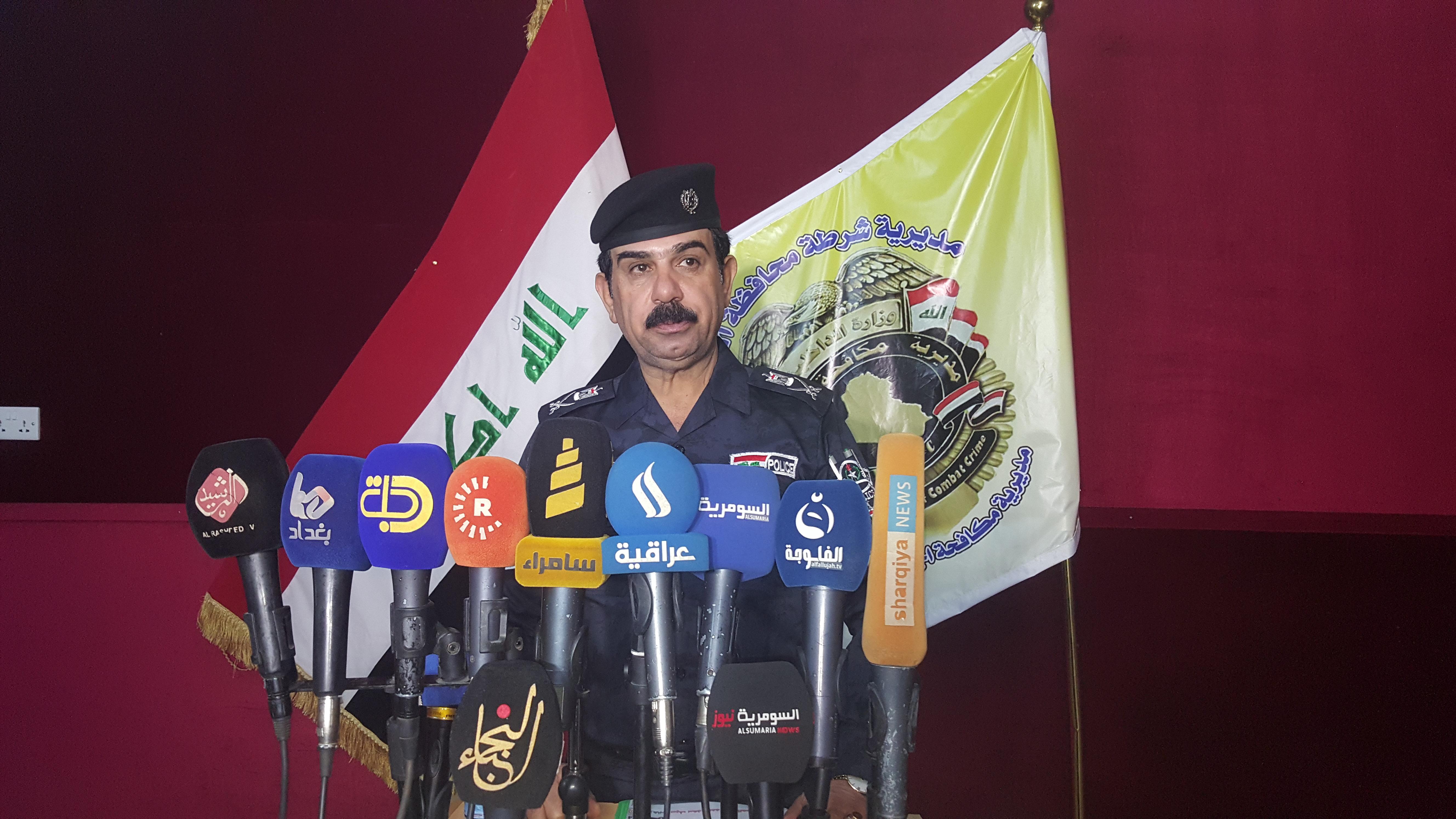 شرطة الانبار تنفي تفجير متهم لديها بسامراء وتؤكد: انه ما زال موقوف لدينا