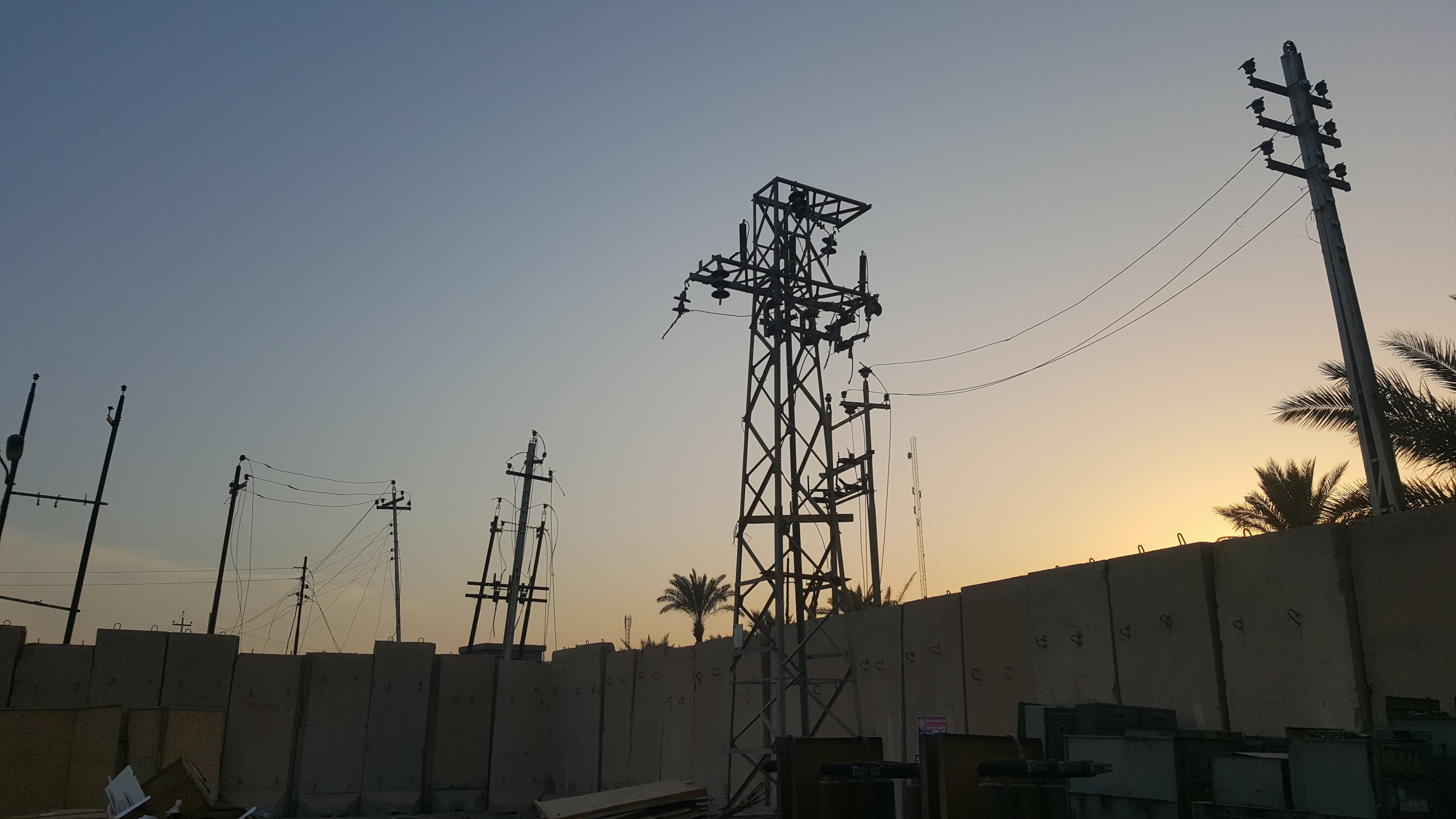 قائممقام الرمادي: أيام تفصلنا عن إعادة التيار الكهربائي للقضاء