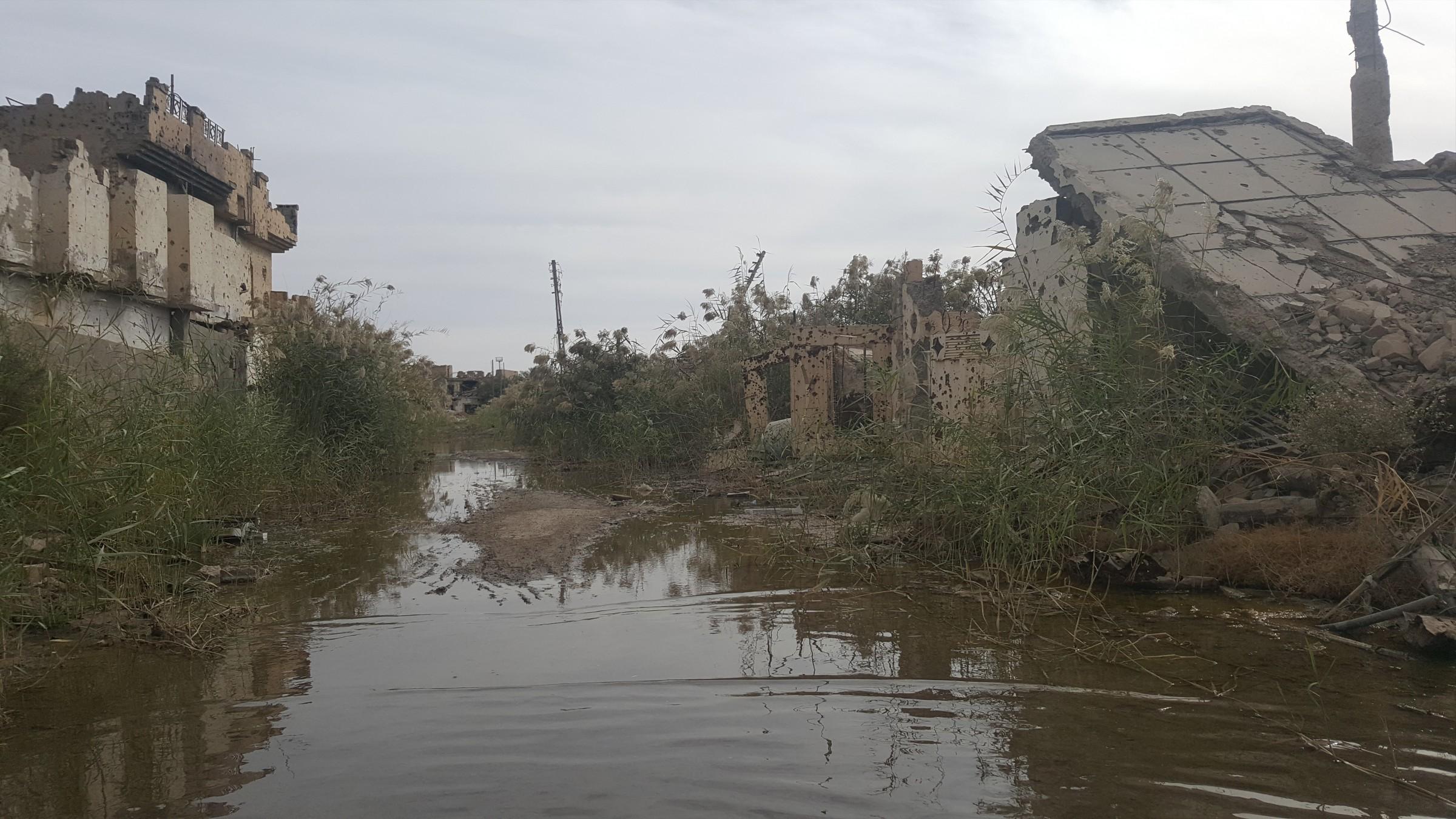 الانبار.. أكثر من 6 آلاف وحدة سكنية مدمرة بشكل كامل في الرمادي