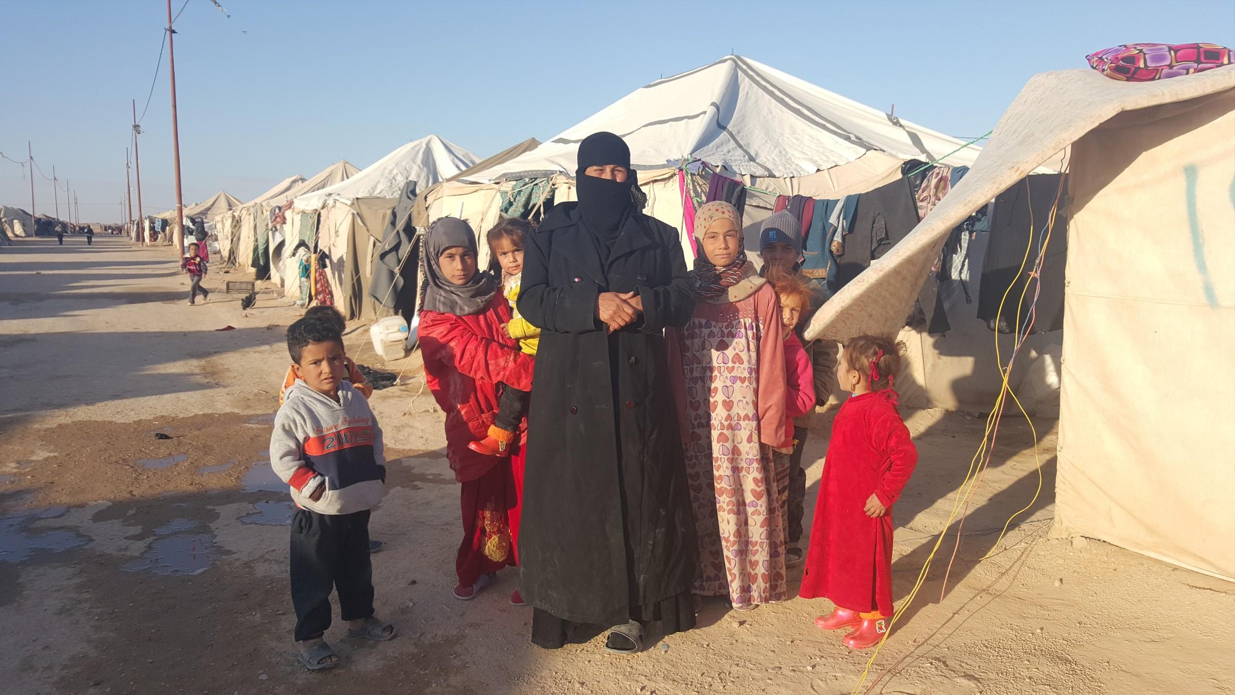 المحلاوي يعلن عودة 230 أسرة نازحة الى ناحية الفرات في هيت