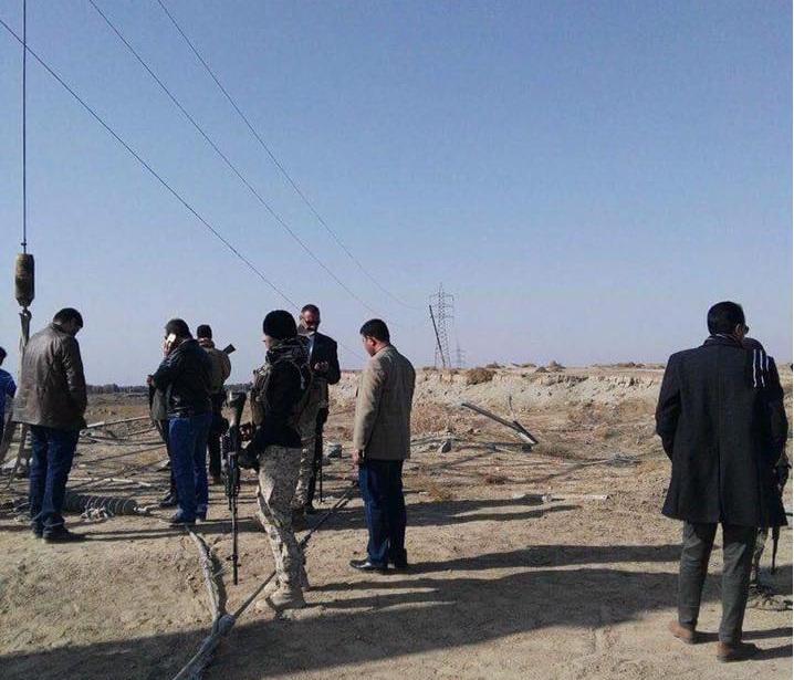 قائممقام الرمادي يعلن اكمال صيانة الخط الناقل للكهرباء بين القضاء وبغداد