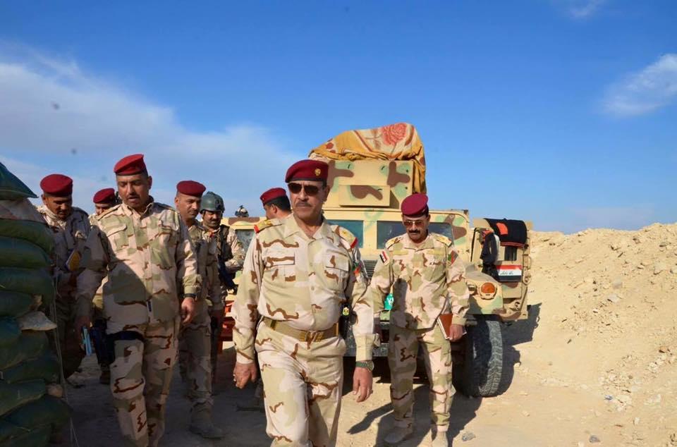 """مقتل خمسة من """"داعش"""" بقصف شمال بحيرة القادسية بالأنبار"""