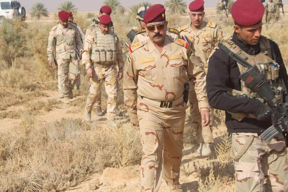 """تدمير معسكر ومعمل تفخيخ تابعين لـ""""داعش"""" غربي الأنبار"""