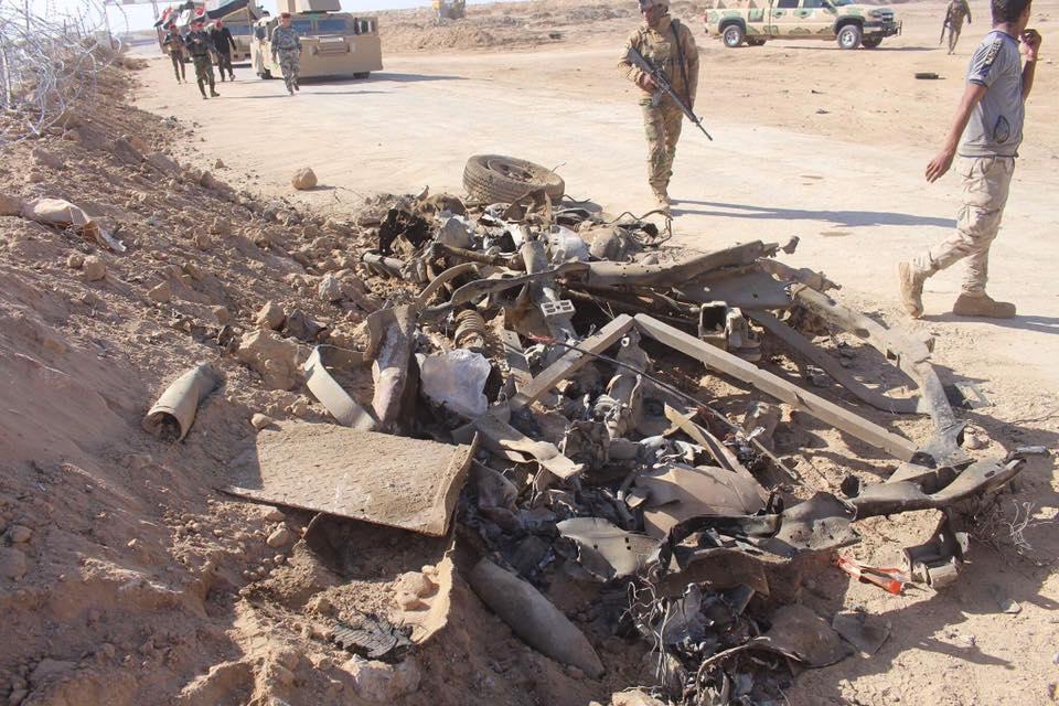 """احباط هجوم لـ""""داعش"""" على مقر عسكري غربي الأنبار"""