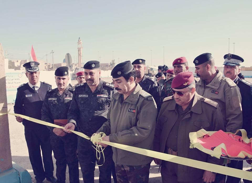 """افتتاح سيطرة """"الموظفين"""" في المدخل الشرقي للفلوجة"""