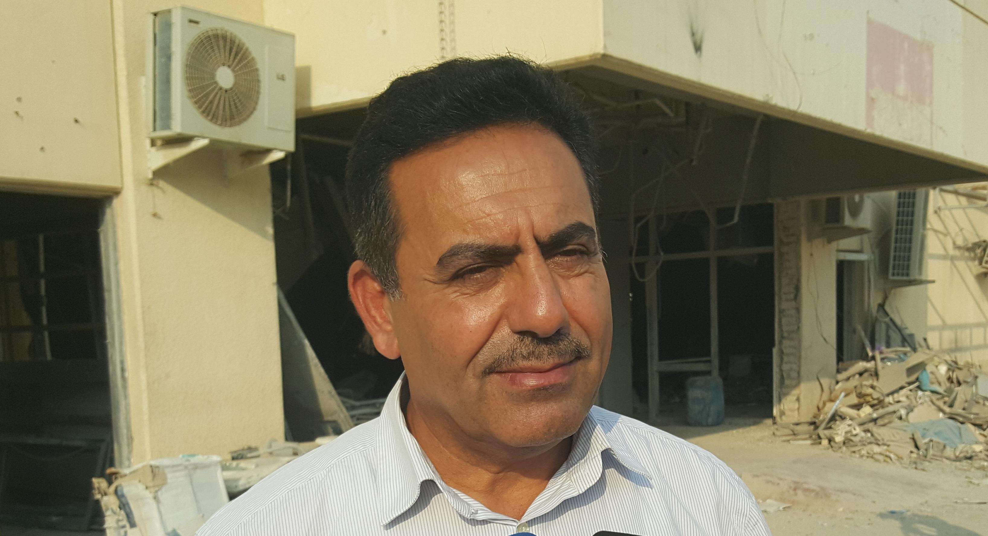 اطلاق سراح مدير مستشفى الرمادي العام بعد أسبوع على اعتقاله