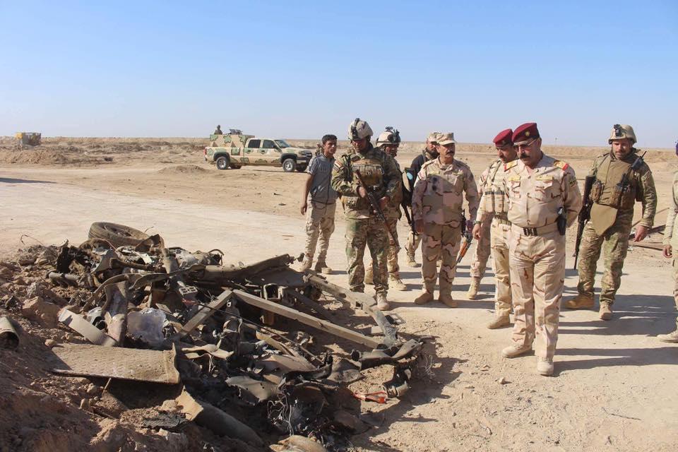 احباط هجوم انتحاري على طريق بيجي – حديثة في الانبار