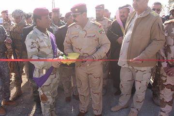 """افتتاح سيطرة """"الشهيد ماجد"""" في المدخل الشرقي للبغدادي بالأنبار"""