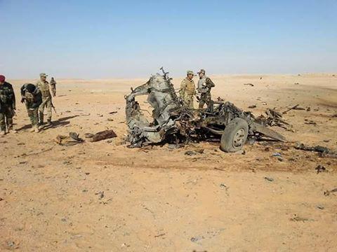 """تدمير ثلاث مضافات لـ""""داعش"""" غربي الأنبار"""