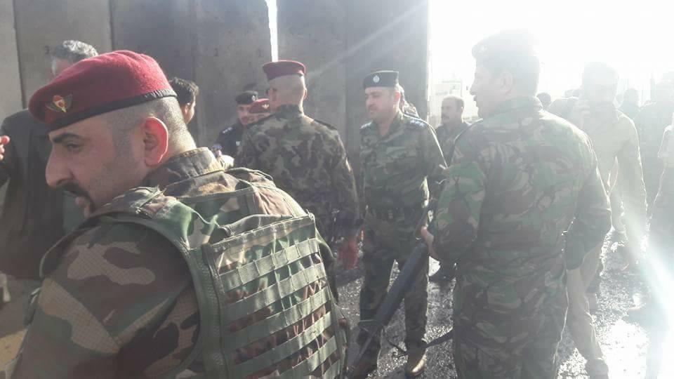 بالصور.. تفجير سيارة مفخخة تحت السيطرة غرب الرمادي