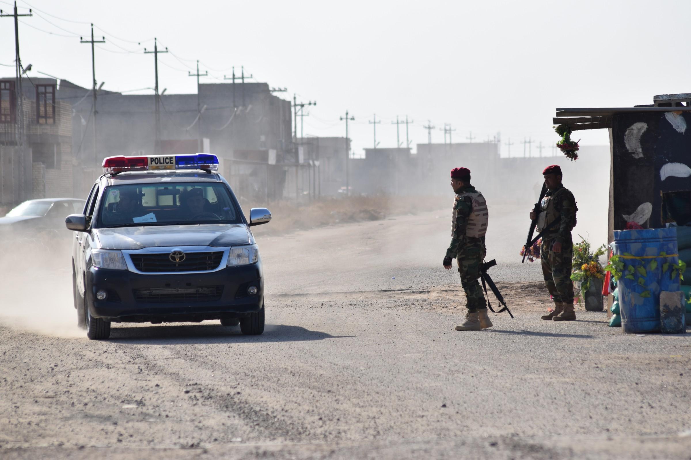 عضو بمجلس الانبار يطالب بفتح مركز شرطة في ناحية الفرات
