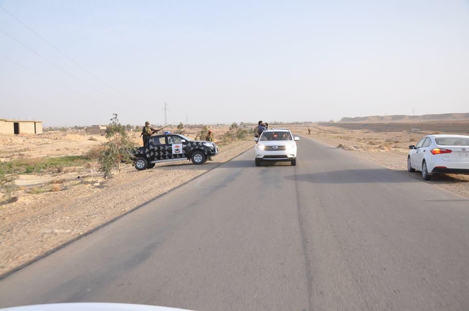 مسؤول محلي يعلن اغلاق منطقة الدولاب غرب الانبار والبدء بعملية تفتيش فيها