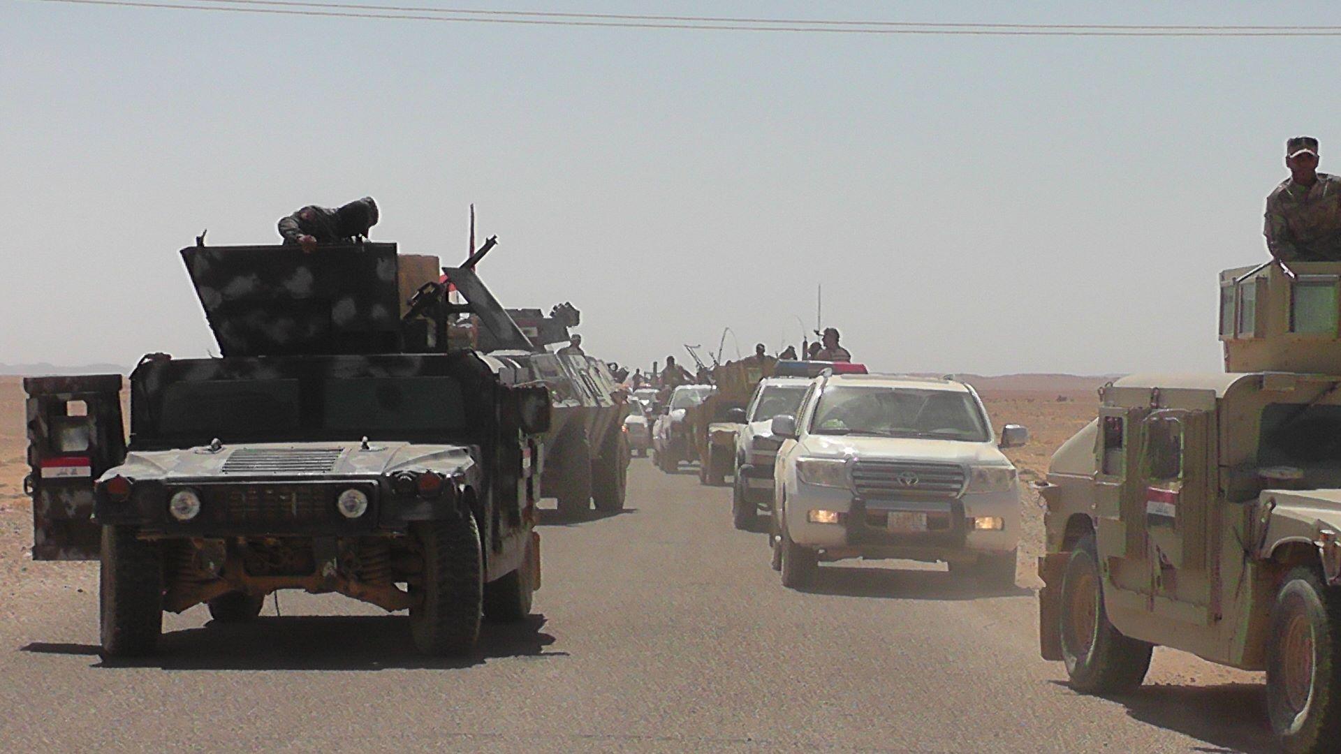 """مواجهات """"عنيفة"""" بين الحشد الشعبي وعناصر """"داعش"""" جنوب القائم بالأنبار"""