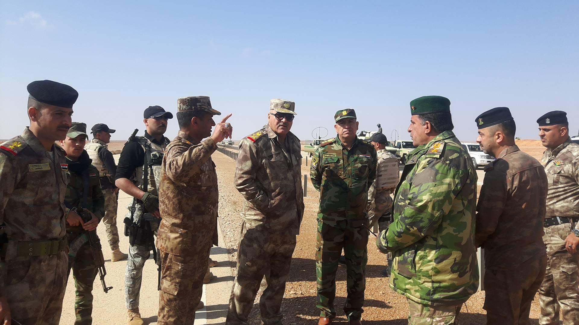 """قوة من حرس الحدود تشتبك مع """"داعش"""" غربي الأنبار"""