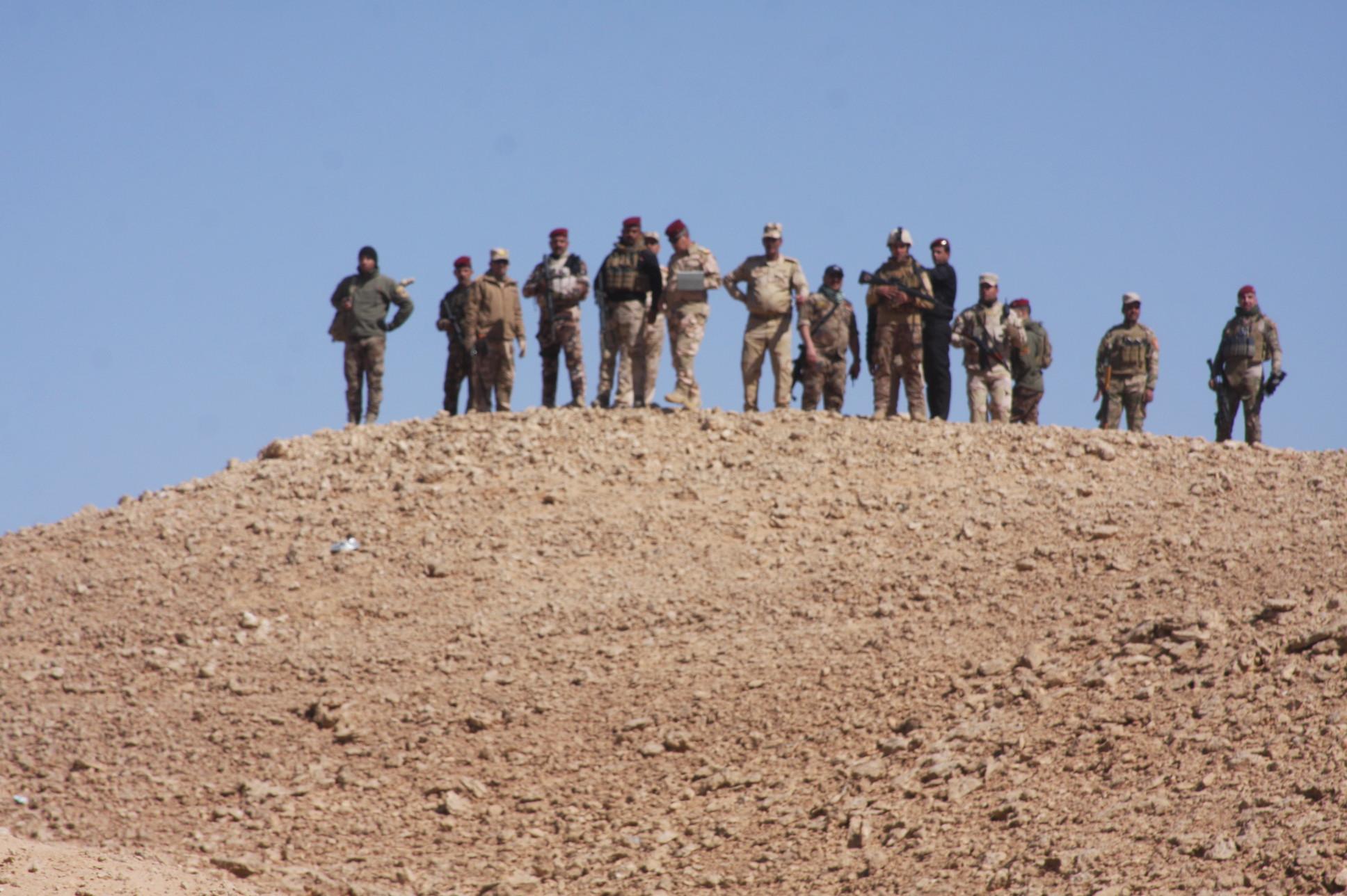 """""""داعش"""" يشن هجوماً على مقر للجيش غرب الرطبة"""