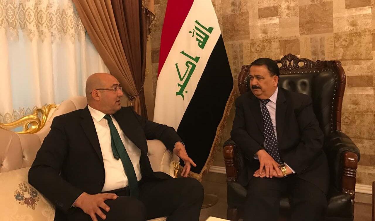 الكعود يناقش مع وزير الدفاع اكمال تحرير المناطق الغربية وتطويع أبناء الأنبار بالجيش