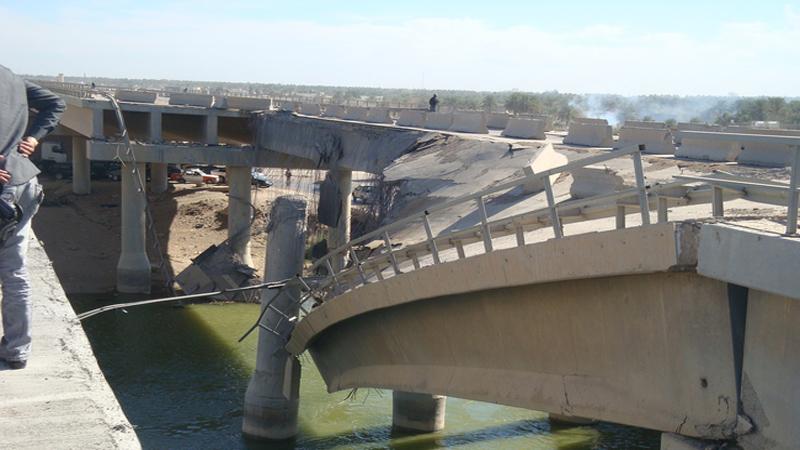 احالة ثلاثة جسور لإعادة تأهيلها على نفقة الأمم المتحدة بالأنبار