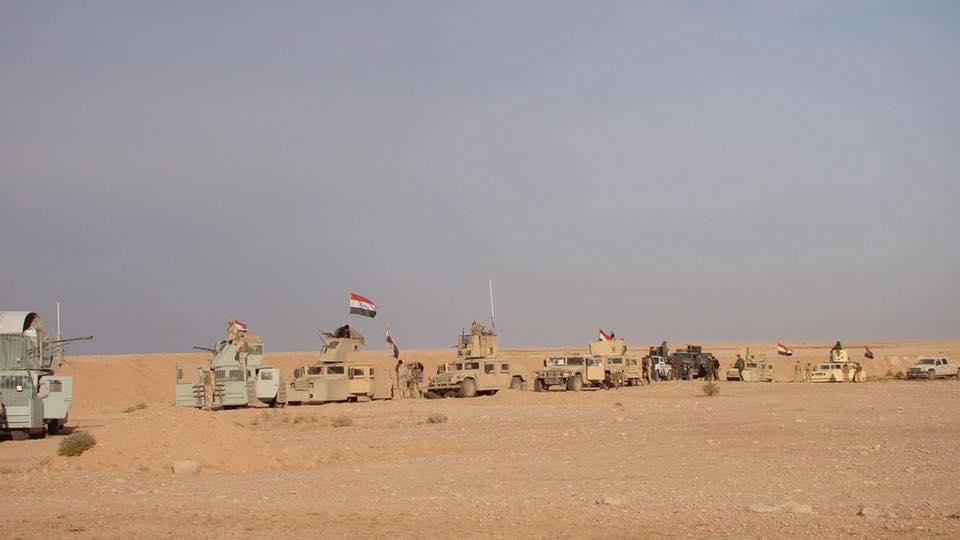 انطلاق عملية عسكرية لتطهير أجزاء من الصحراء الغربية في الأنبار