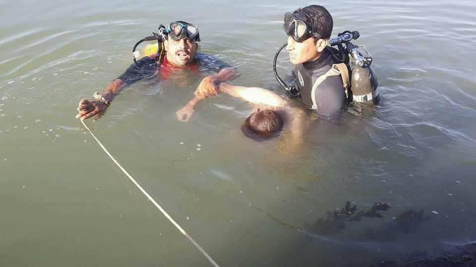 انتشال جثة شاب من نهر الفرات بالرمادي