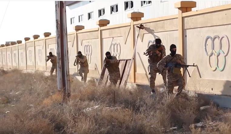 قيادي بالحشد: وصول عناصر من داعش الى عنه وراوه بعد هروبهم من نينوى