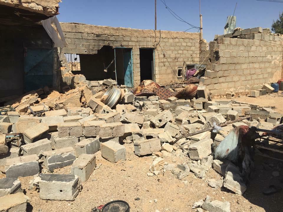 قائممقام الرطبة يطالب بابعاد القصف عن المدنيين في عكاشات